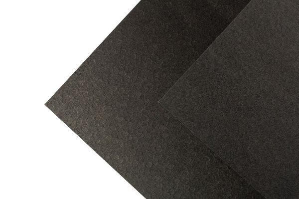 Papel Texture TX Leaves Preto 30,5x30,5cm com 10 unidades