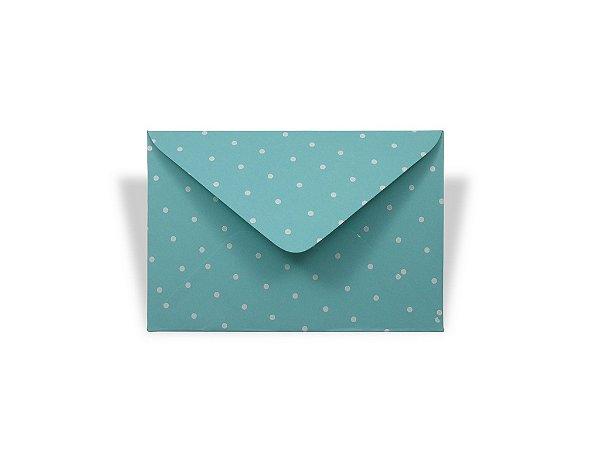 Envelopes visita Aruba Decor Bolinhas Brancas - Lado Externo com 10 unidades