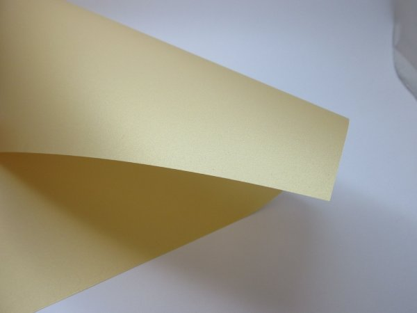 Papel Vegetal Color Gold A4 com 5 unidades