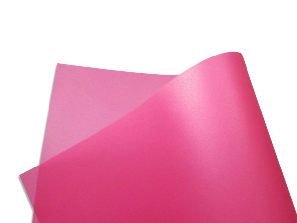 Papel vegetal Color Rosa 30,5x30,5cm com 2 unidades