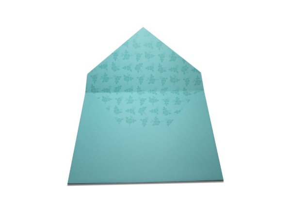 Envelopes convite Aruba Decor Rosas Incolor - Lado Interno com 10 unidades
