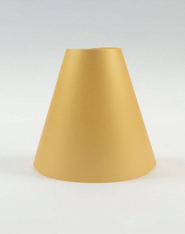 Cúpula de abajur em papel - Paper Lamp cor Ouro