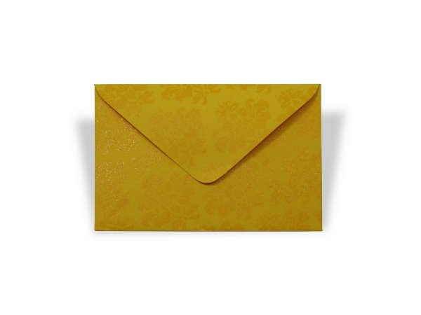 Envelopes visita Rio de Janeiro Decor Arabesco Incolor - Lado Externo com 10 unidades