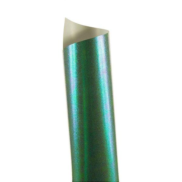 Papel Carnival Verde 30,5x30,5cm 170g com 5 unidades