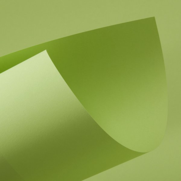Papel Color Fluo Green 120g/m² - 66x96cm