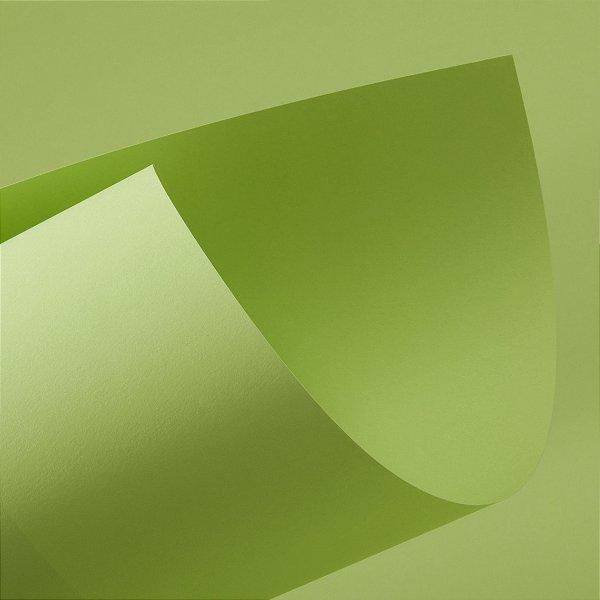 Papel Color Fluo Green 240g/m² - 66x96cm