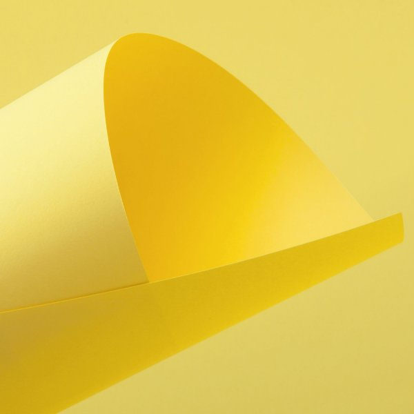 Papel Color Fluo Yellow 120g/m² - 66x96cm
