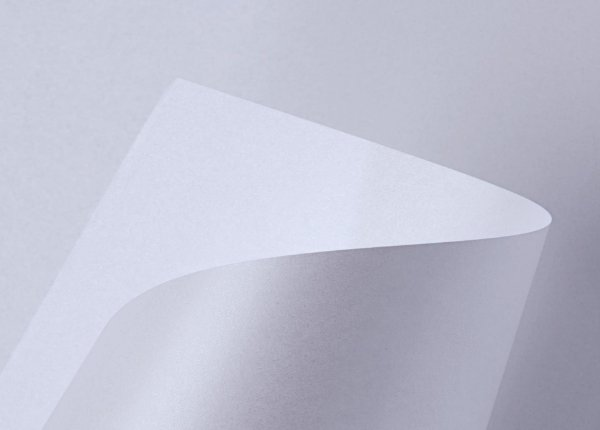 Papel Sirio Pearl Ice White 125g/m² - 66x96cm