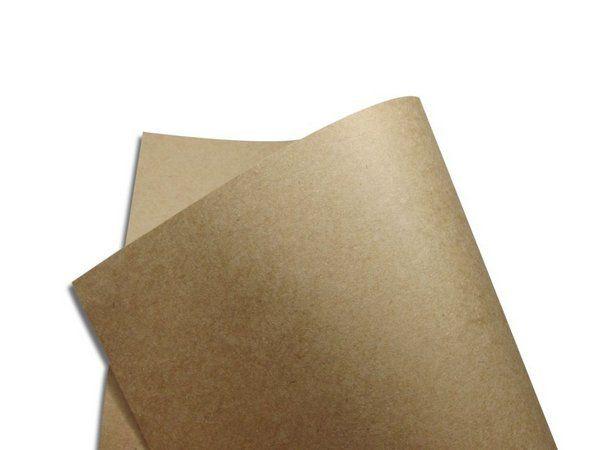 Papel Kraft Pardo 80g A4 com 10 folhas