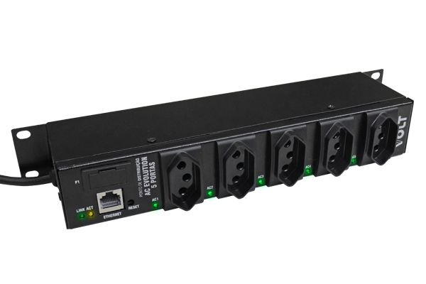 Ponto de Distribuição AC Evolution 5 Portas - SNMP