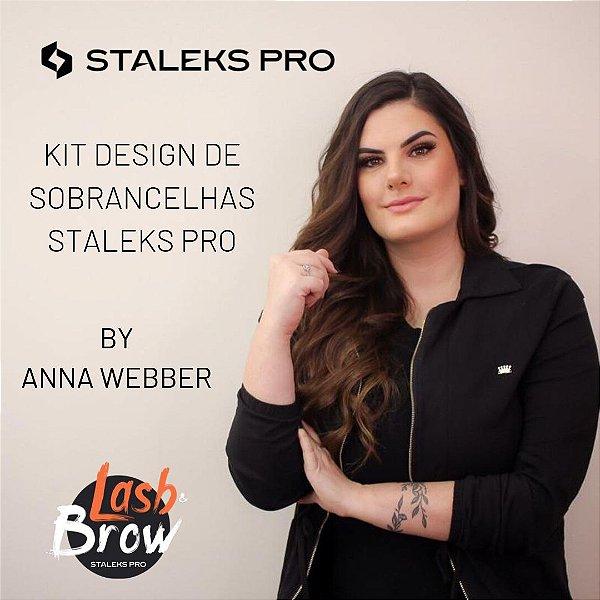Kit Designer de Sobrancelhas By Anna Webber (Pinça TE-10/4 + Pinça TE-10/5 + Tesoura SE-90/2)