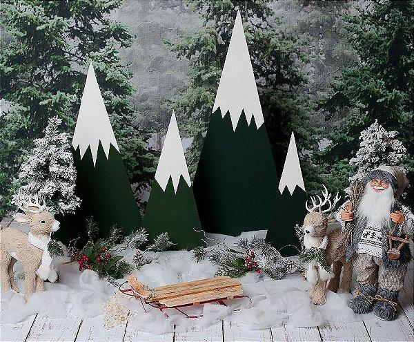 PRÉ VENDA - Cenário de Natal - Snowy Valley