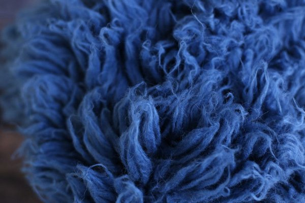Flokati® Clássico - Azul Jeans
