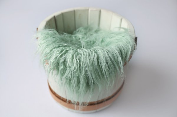 Faux Flokati - Verde Cristalino