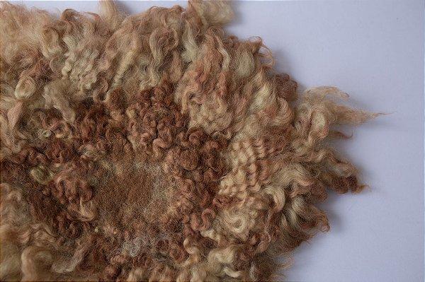Layer Curly - Marrom Mesclado