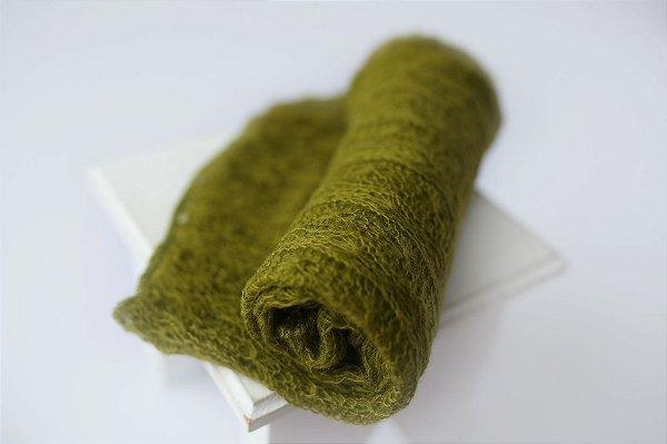 Wrap Mohair -Verde Musgo