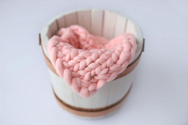 Layer de Merino - Rosa Envelhecido