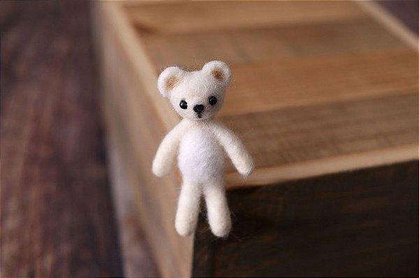 Ursinho Feltrado - Branco