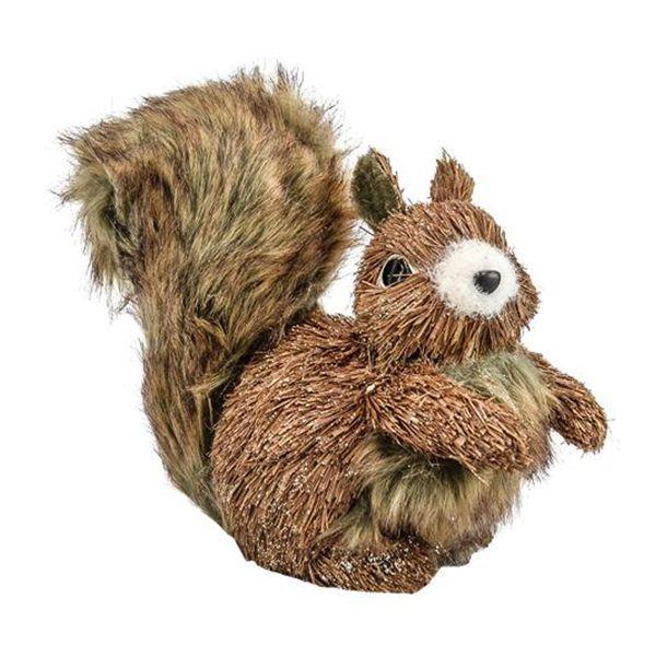 Esquilo sentado 18cm