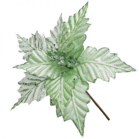 Folha Natalina Verde - 20cm