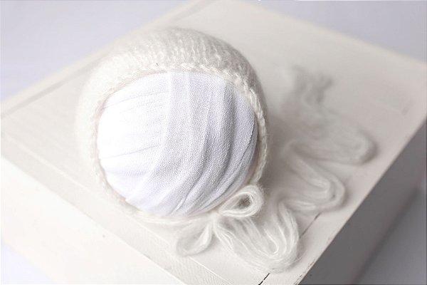 Touquinha de Mohair - Off White