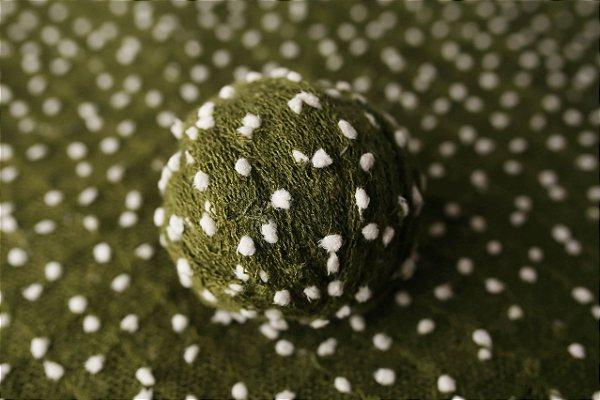 Wrap de Acabamento Pipoca - Verde musgo