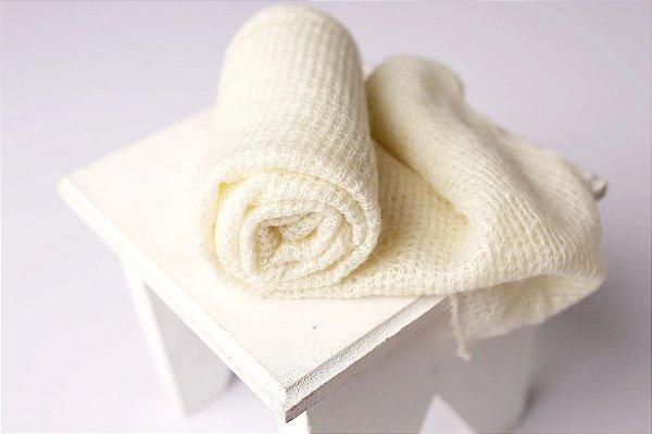 Wrap Angorá - Off White