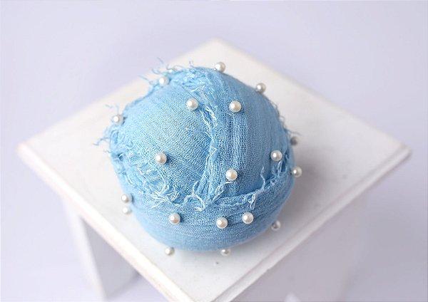 Wrap Pérola - Azul Sky