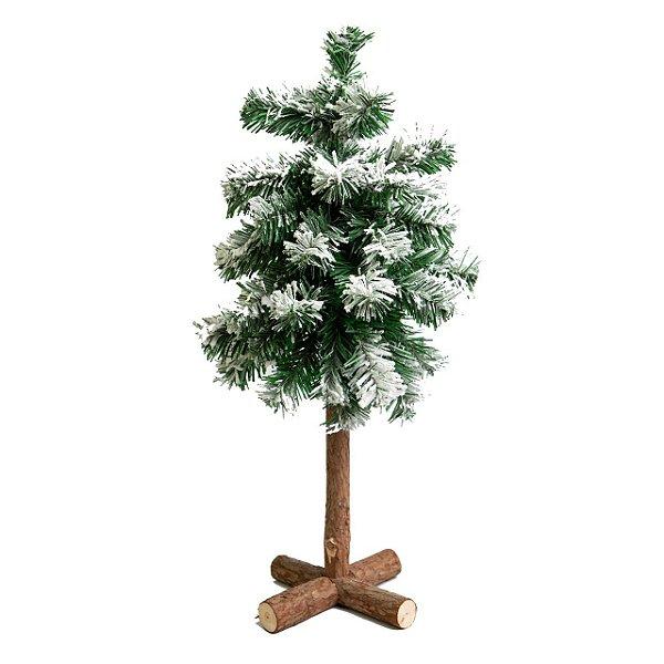 Árvore Nevada Rústica 60cm