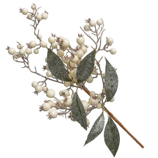 Galho Cereja Branca 50cm