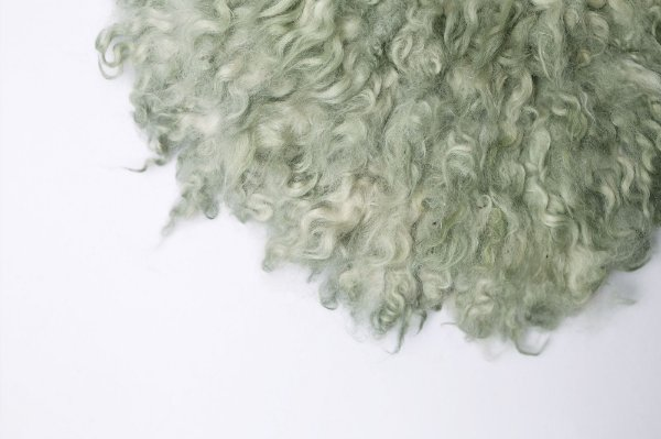 Layer Curly - Verde Acinzentado