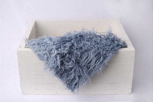 Faux Flokati - Azul Envelhecido