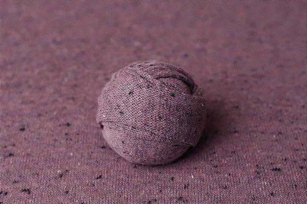 Kit Manta + Wrap Flocado - Uva