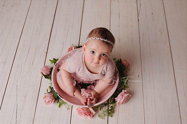 Gamela Rústica - Rosa Bebê