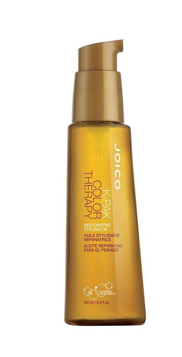 Óleo de Argan Joico K-PAK Color Therapy Restorative Styling Oil - 100 ml