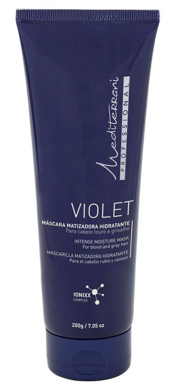 Violet máscara matizadora hidratante - Mediterrani