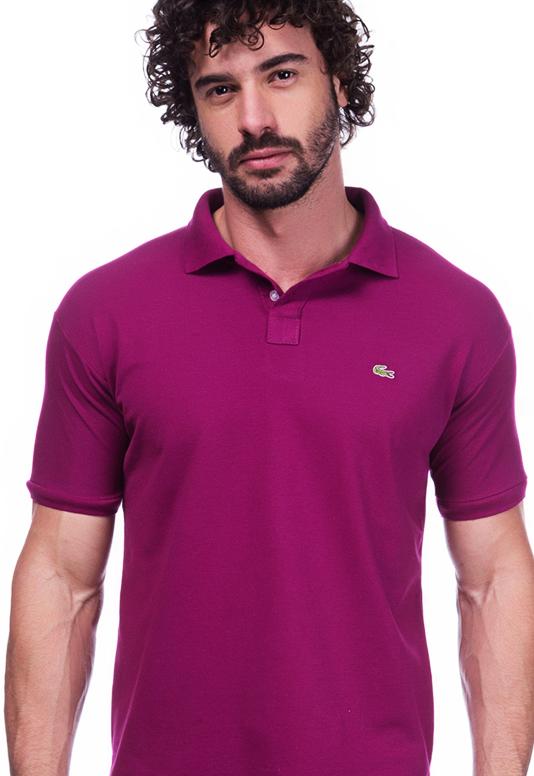 Camisa Polo Lacoste Vinho | Oferta