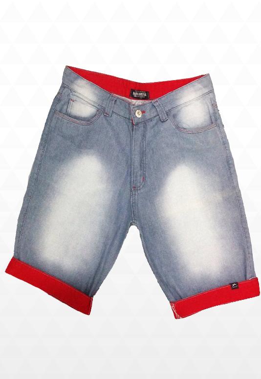 Bermuda Jeans estilosa Hollister