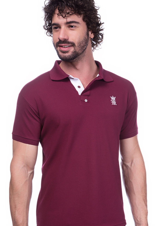 Camisa Gola Polo Sergio K Vinho