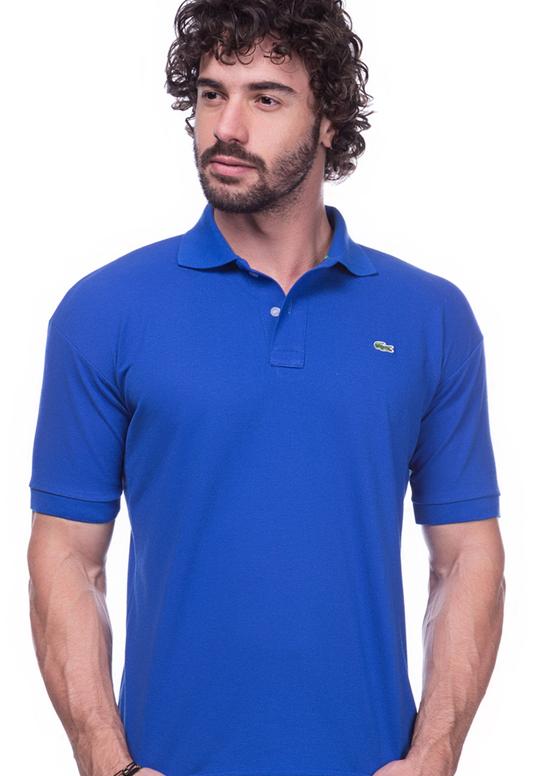 Camisa Polo Lacoste Azul | Oferta