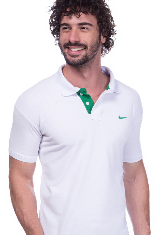 Camisa Polo Nike Branca | Oferta