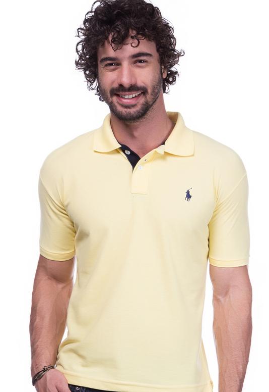 Camisa Polo Ralph Lauren Amarela  Executiva