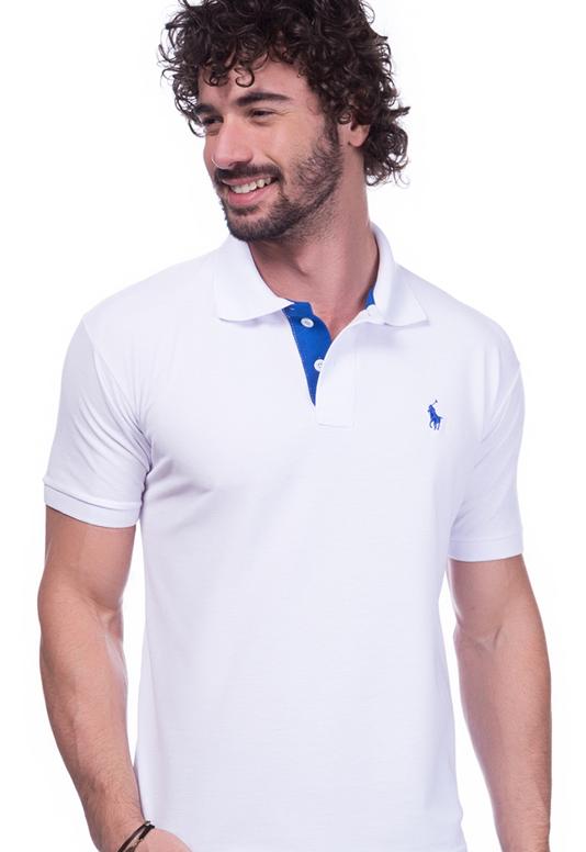 Camisa Polo Ralph Lauren Branca | Executiva