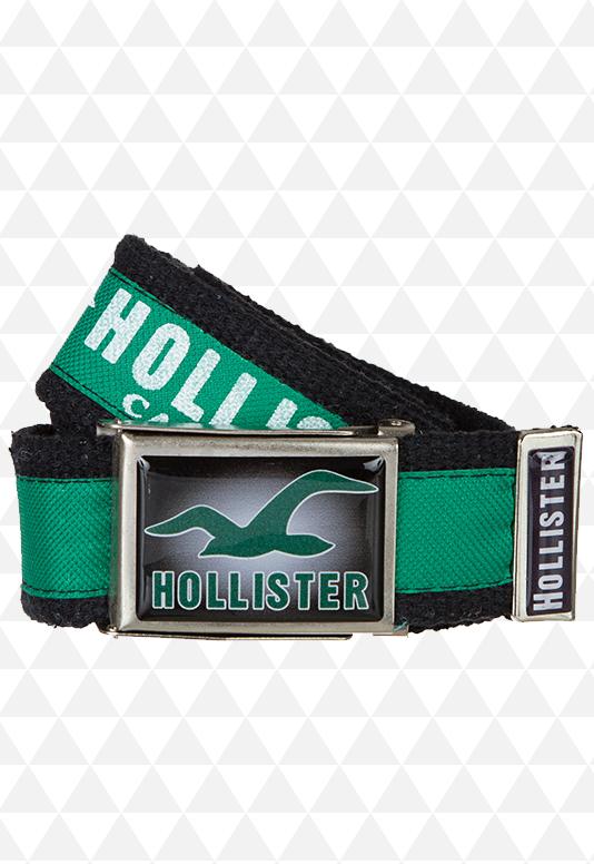 Cinto de Pano Verde da Hollister