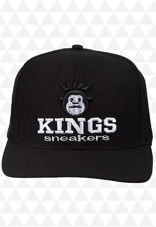 Boné Kings Preto - Aba Reta