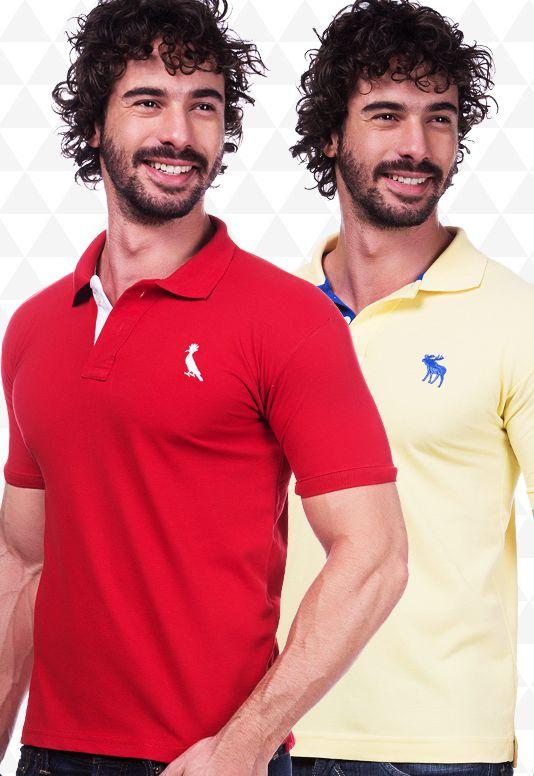 Kit 20 Camisas Polo Masculinas