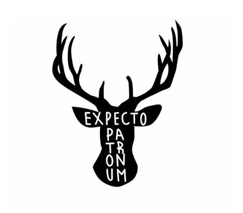 ADESIVO EXPECTO PATRONUM - HARRY POTTER