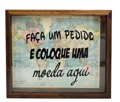 QUADRO COFRE - FAÇA UM PEDIDO
