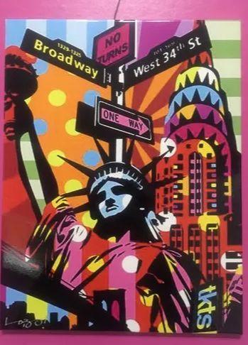 PLACA DECORATIVA  - NOVA YORK