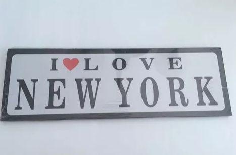 PLACA DECORATIVA - NEW YORK